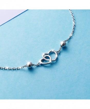 Anklet Sterling Silver Adjustable bracelet in Women's Anklets