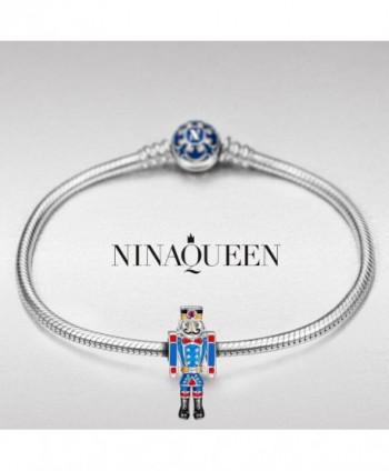 NinaQueen Nutcracker Christmas Anniversary Granddaughter in Women's Charms & Charm Bracelets