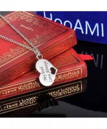 HooAMI Cremation Necklace Keepsake Memorial in Women's Pendants