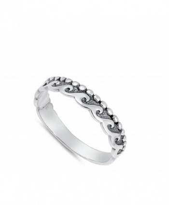 Ball Ocean Stackable Sterling Silver