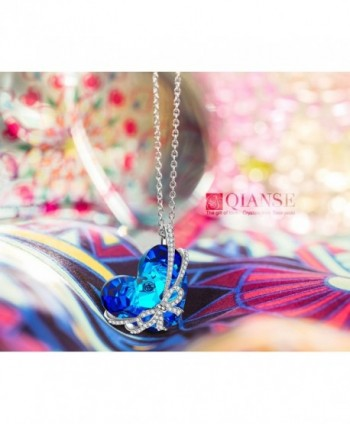 QIANSE Necklace Necklaces Anniversary Girlfriend in Women's Pendants