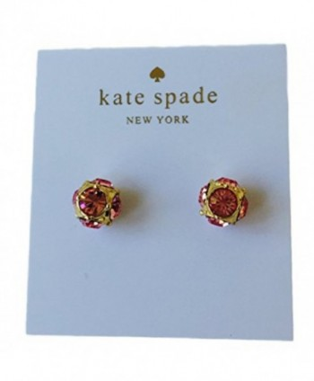Kate Spade Lady Marmalade Stud Earrings Light Pink - C217YY9Z32S