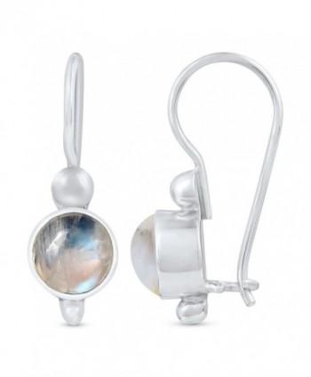 STELLAR DESIGNS Gemstone Sterling Earrings