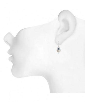 STELLAR DESIGNS Gemstone Sterling Earrings in Women's Drop & Dangle Earrings