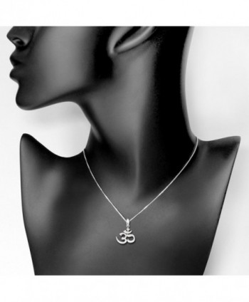 Sterling Silver Pendant Necklace Women
