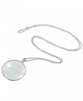 WensLTD Magnifier Pendant Necklace Decorativ