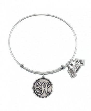 Wind and Fire Initials Expandable Bangles - CM11XSHM89F