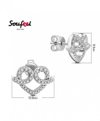 SOUFEEL Sterling Earrings Swarovski Jewelry