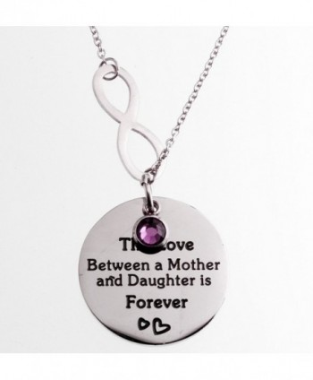 R H Jewelry Stainless Daughter Infinity
