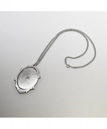Antiqued Satanic Baphomet Pendant Necklace in Women's Pendants