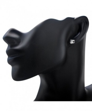 bd4556647 925 Sterling Silver Horse Symbol of success Stud Earrings - C411OTE8WPZ; Sterling  Silver Symbol success Earrings ...
