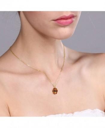 Ecstasy Mystic Yellow Plated Pendant in Women's Pendants