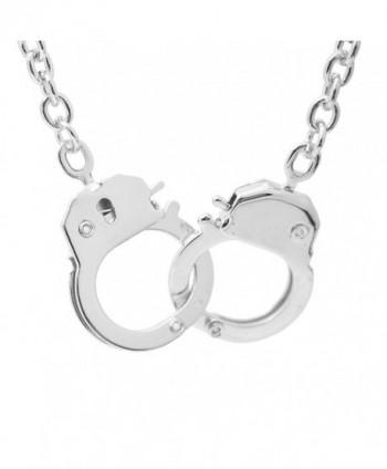Spinningdaisy Finish Handcuff Pendant Necklace
