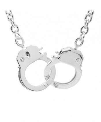 Spinningdaisy Finish Handcuff Pendant Necklace in Women's Pendants