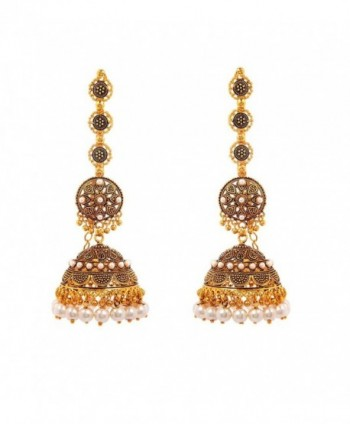 Intricately Designed Traditional Bollywood Earring - CX17YDYIKK0