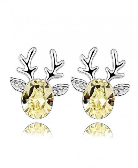 Crystal Diamond Christmas Earrings SWAROVSKI - C711I4LCBOR