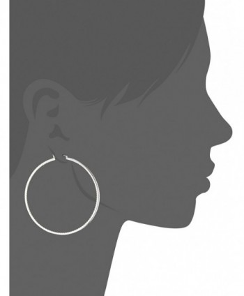 Cole Haan Basket Silver Earrings