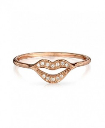Bling Jewelry Sterling Vermeil Stackable in Women's Stacking Rings