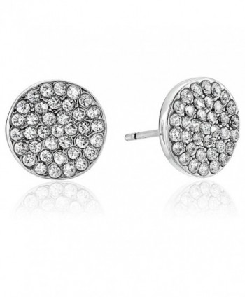 "kate spade new york ""Pave Studs"" Shine On Earrings - Clear/Silver - CH185O9NE6A"