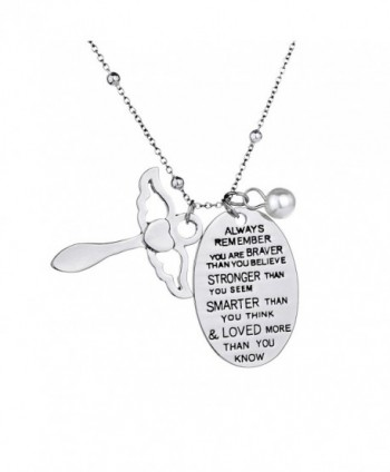 Inspirational Necklace Jewelry Birthday Christmas - CH185ER8ROZ