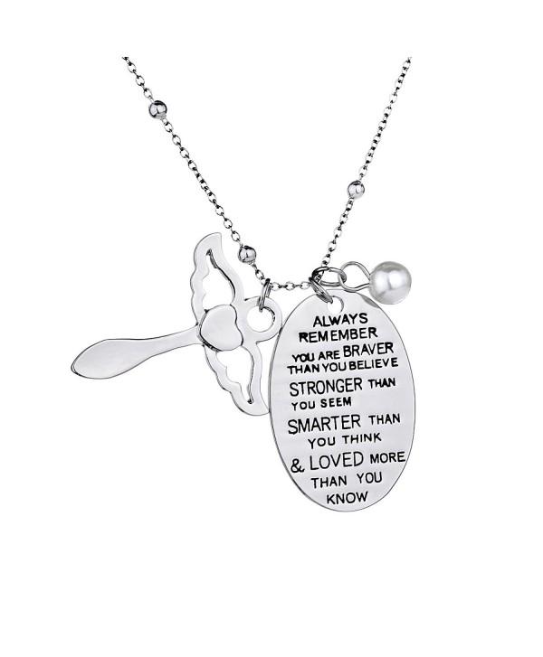 Inspirational Necklace Jewelry Birthday Christmas - CH185ER8ROZ