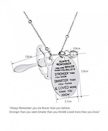 Inspirational Necklace Jewelry Birthday Christmas