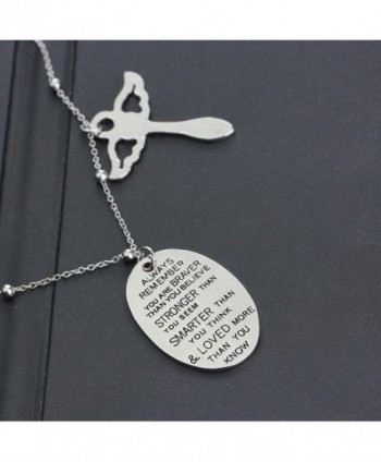 Inspirational Necklace Jewelry Birthday Christmas in Women's Pendants