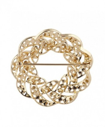 Lux Accessories Rhinestones Wreath Christmas