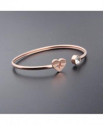 ENSIANTH HeartBeat Bracelet Stethoscope adjustable in Women's Cuff Bracelets