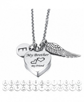 Cremation Jewelry Necklace Memorial Keepsake - with Letter Charm - CY184YKTYXI