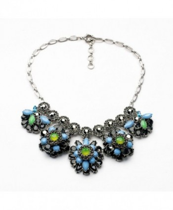 Fun Daisy Fashion Retro Silver Female Necklace - xl01235 - CU11QEKBT0R