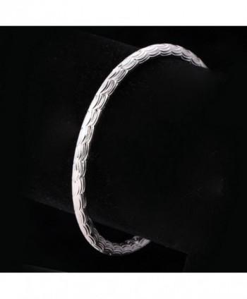U7 Unisex Bracelets Platinum Bracelet in Women's Cuff Bracelets