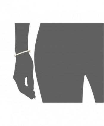 spade Enamel Hinged Bangle Bracelet