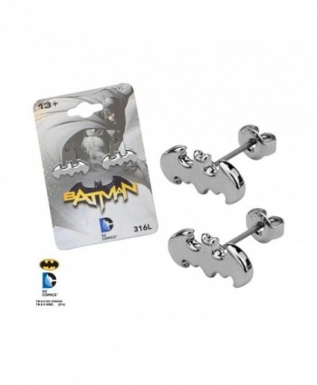 Licensed DC Comics Stainless Earrings in Women's Stud Earrings