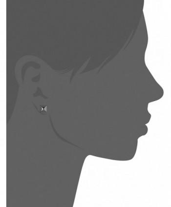 Nicole Miller Triple Metal Earrings