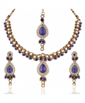 Jewels Traditional Elegantly Handcrafted IJ267Bl - C4128TAF8PZ