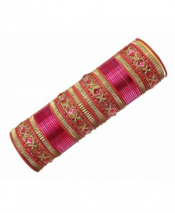 Bollywood Fashion Style Multi Bangles Indian Party wear Jewellery - CZ12MKES8ZT