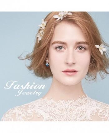 Crystal Dangle Earrings Sterling Earring in Women's Drop & Dangle Earrings