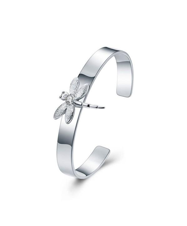 Ginalee Women's Dragonfly Cuff Bracelet - CG12MXR5KHR