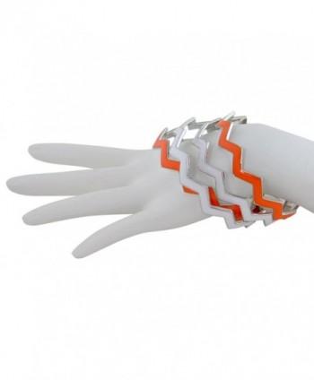 ZigZag Bangles Chevron Design Bracelets