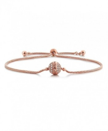 SHINCO Starry Zirconia Adjustable Bracelets - Rose - CB17Z39UUSO