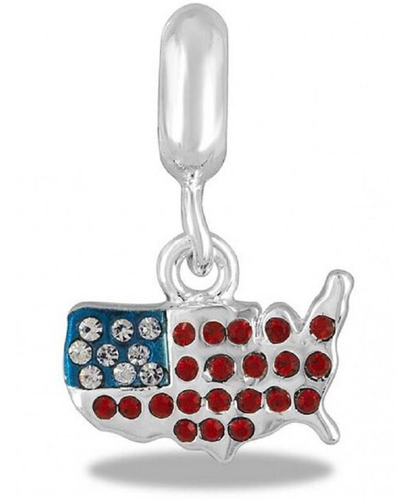 DaVinci Bead USA COUNTRY - Jewelry Bracelet Memories Dangle DB83-19 - C612FPADKW5