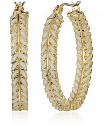 Lonna & Lilly Gold-Tone Hoop Earrings - CO17Y4YTXCY