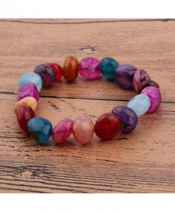 Chakra Natural Bracelet Aromatherapy Diffuser in Women's Stretch Bracelets