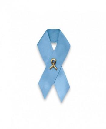 Satin Light Blue Ribbon Pin (Retail) - C2117I8MY85