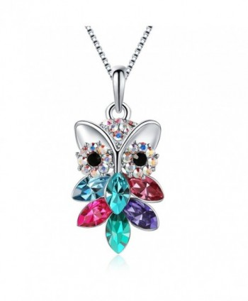 TOJEAN Mothers Necklace Swarovski Birthday - C0189XOQGX0