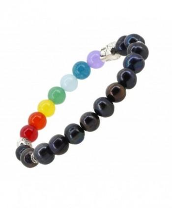 Balancing Jewelry Bracelet Freshwater Cultured in Women's Stretch Bracelets
