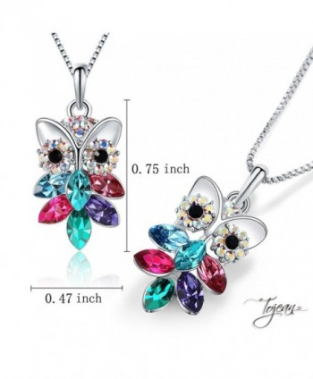 TOJEAN Mothers Necklace Swarovski Birthday