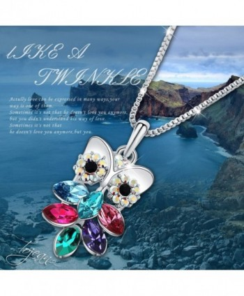 TOJEAN Mothers Necklace Swarovski Birthday in Women's Pendants