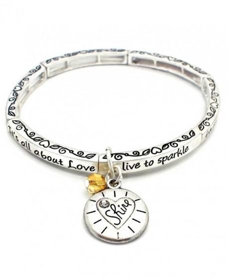 About Love Charm Bracelet Shine - C9127L0WAFP